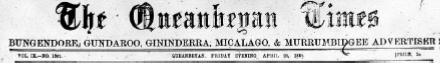 Queanbeyan Times Excerpt 5